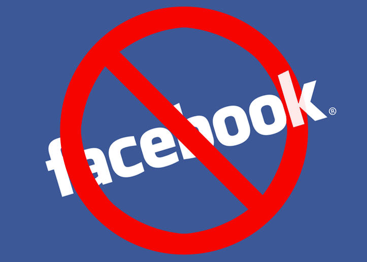 Stop writing posts on Facebook